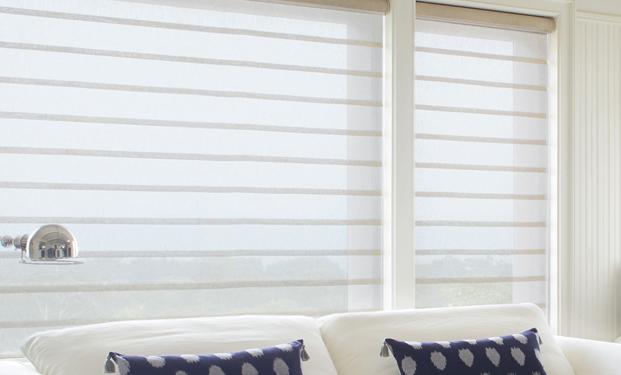 Vignette Roman Shades - Fabric Roman Window Blinds, Shades