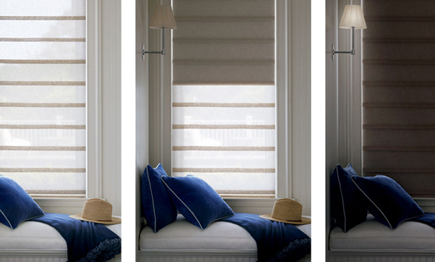 Vignette Fabric Roman Blinds and Shades